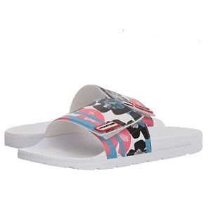 Hunter Original Floral Stripe Adjustable Slide